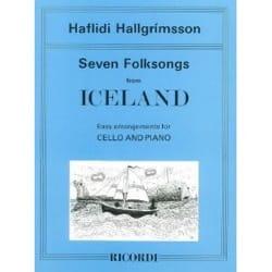 Seven Folksongs from Iceland Haflidi Hallgrimsson laflutedepan
