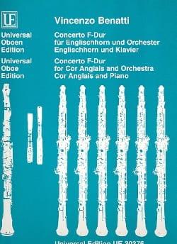 Concerto F-Dur - Englishhorn Klavier Vincenzo Benatti laflutedepan