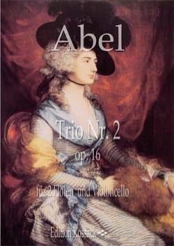 Trio en Ré Majeur, op. 16 n° 2 - 2 Flûtes et Violoncelle laflutedepan