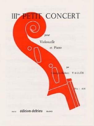 Petit Concert n° 3 - Georges-Robert Vallée - laflutedepan.com