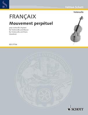 Jean Françaix - Perpetual motion - Partition - di-arezzo.co.uk