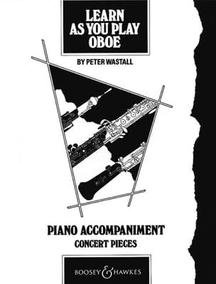 Learn as you play oboe - Piano accompagnement laflutedepan