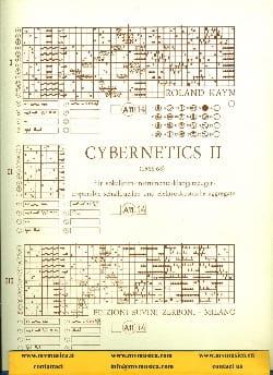 Cybernetics II -Partitur Roland Kayn Partition laflutedepan