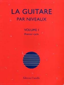 La Guitare Par Niveaux Volume 1 Olivier Chateau Partition laflutedepan