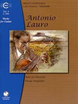 Oeuvres pour Guitare, Volume 5 Antonio Lauro Partition laflutedepan