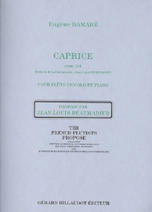 Caprice Opus 174 - Eugène Damaré - Partition - laflutedepan.com