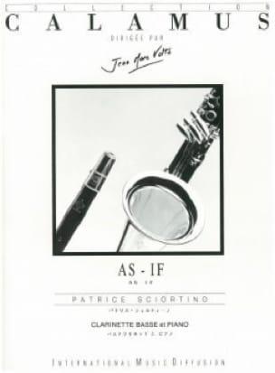 As - If - Patrice Sciortino - Partition - laflutedepan.com