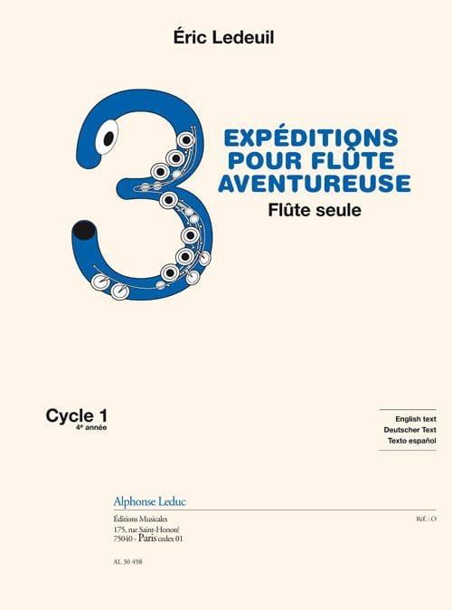 3 Expéditions pour Flûte Aventureuse - Eric Ledeuil - laflutedepan.com