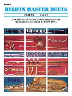 Belwin Master Duets, Volume 1 Flute Easy - laflutedepan.com