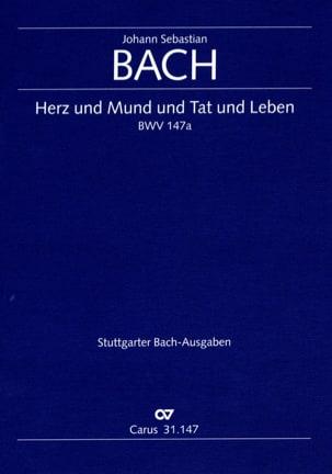 Cantate Herz und Mund und Tat und Leben BWV 147a BACH laflutedepan