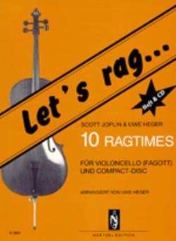 Let's Rag JOPLIN Partition Violoncelle - laflutedepan