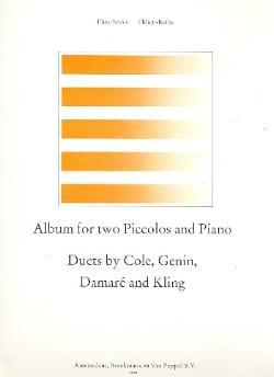 Album for 2 Piccolos and piano Partition Trios - laflutedepan