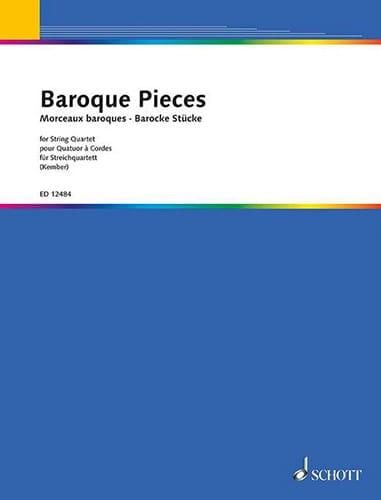Baroque Pieces - String quartet - John Kember - laflutedepan.com