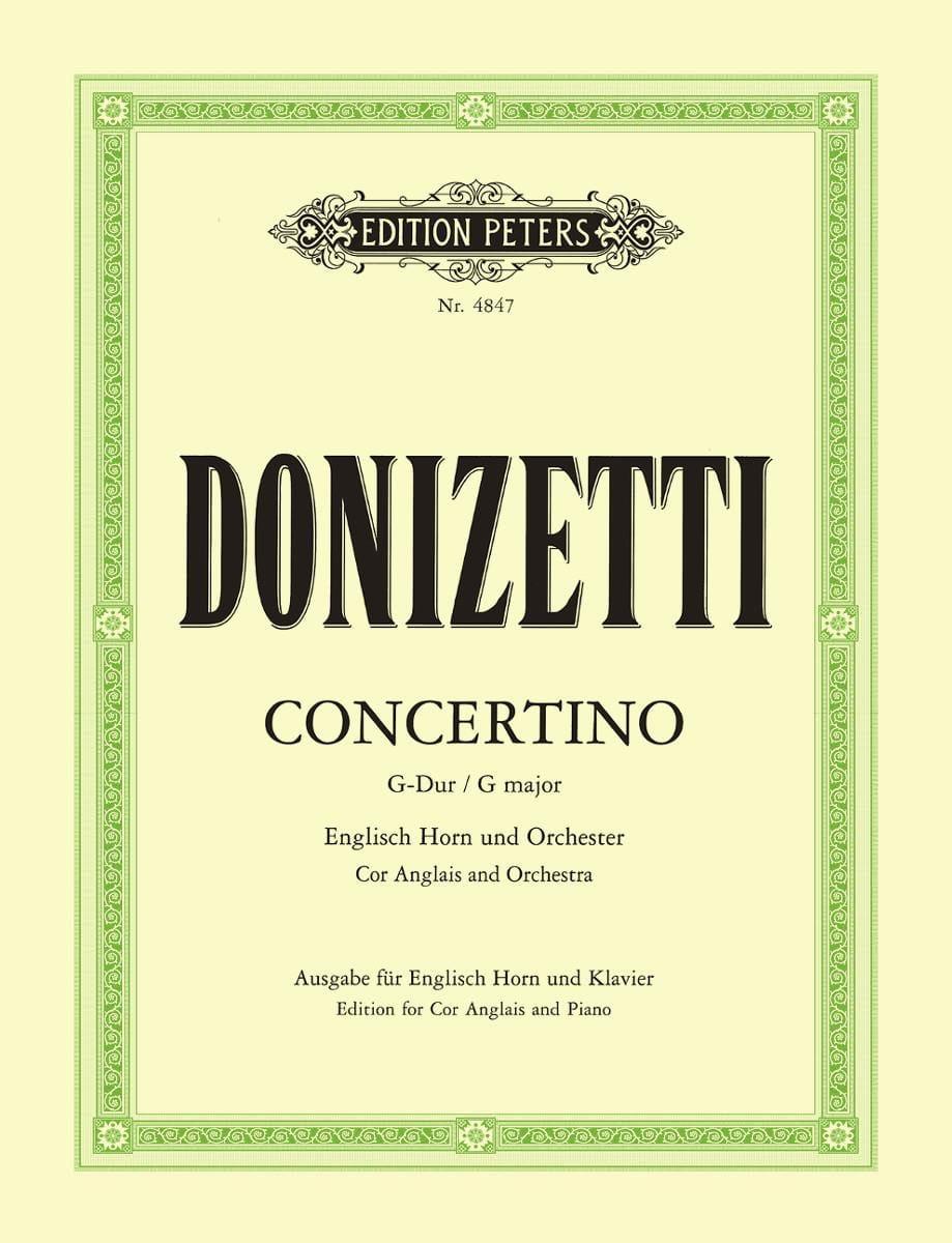 Concertino G-Dur - Englisch Horn Klavier - laflutedepan.com