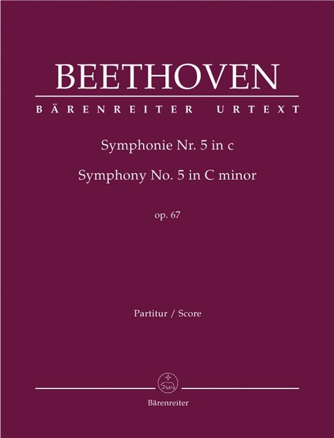 Symphonie Nr. 5 c-moll op. 67 - Partitur - laflutedepan.com