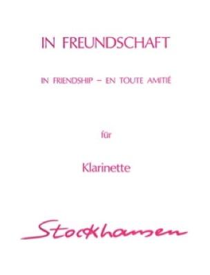 In Freundschaft -Clarinette - STOCKHAUSEN - laflutedepan.com