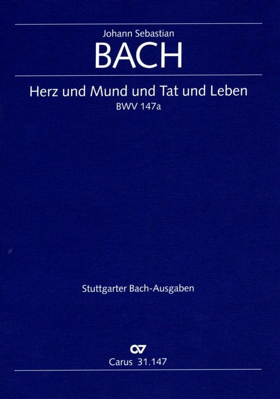 Cantate Herz und Mund und Tat und Leben BWV 147a - laflutedepan.com