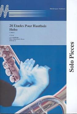 28 Etudes pour hautbois Carlo Besozzi Partition laflutedepan