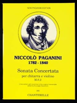 Sonata Concertata PAGANINI Partition 0 - laflutedepan