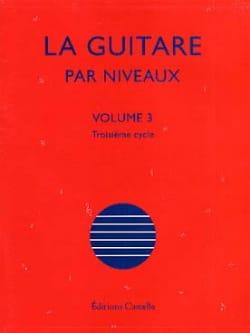 La Guitare Par Niveaux Volume 3 Olivier Chateau Partition laflutedepan