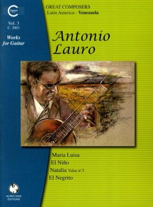 Oeuvres pour Guitare, Volume 3 Antonio Lauro Partition laflutedepan