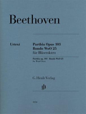Parthia, op. 103 / Rondo WoO 25 - Parties séparées laflutedepan