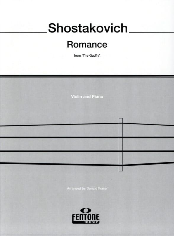 Romance from The Gadfly - Violin - CHOSTAKOVITCH - laflutedepan.com