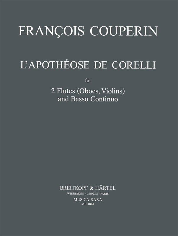 L' Apothéose de Corelli - 2 Dessus et Basse - laflutedepan.com