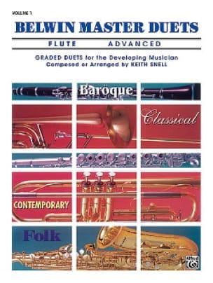 Belwin Master Duets, Volume 1 Flute Advanced - laflutedepan.com
