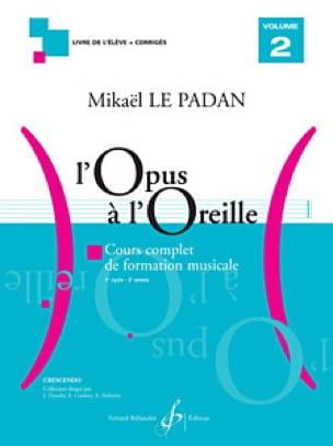 L'Opus à l'Oreille - Volume 2 - Mikaël LE PADAN - laflutedepan.com