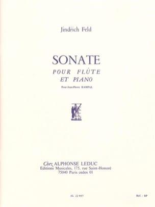 Sonate - Flûte piano Jindrich Feld Partition laflutedepan