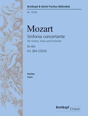 Sinfonia Concertante Es-Dur KV 364 - Partitur MOZART laflutedepan
