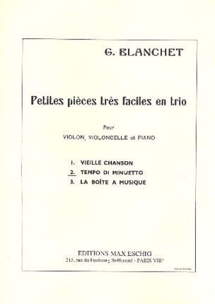 n° 2 : Tempo Minuetto Petites pièces très faciles en trio laflutedepan
