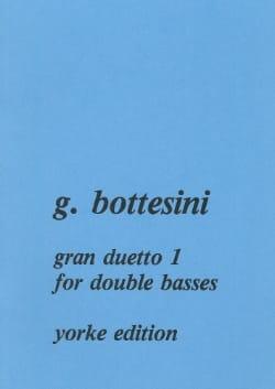 Gran duetto n°1 BOTTESINI Partition Contrebasse - laflutedepan