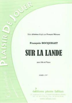 Sur la lande François Bocquelet Partition Alto - laflutedepan