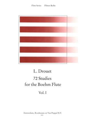 72 Etudes for the Boehm Flute Volume 1 Louis Drouet laflutedepan