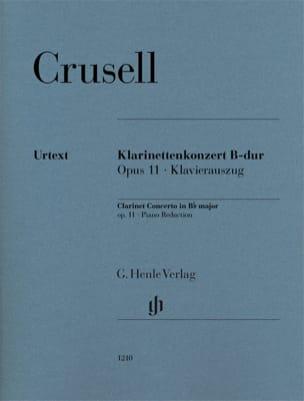 Concerto pour clarinette, op. 11 Bernhard Henrik Crusell laflutedepan
