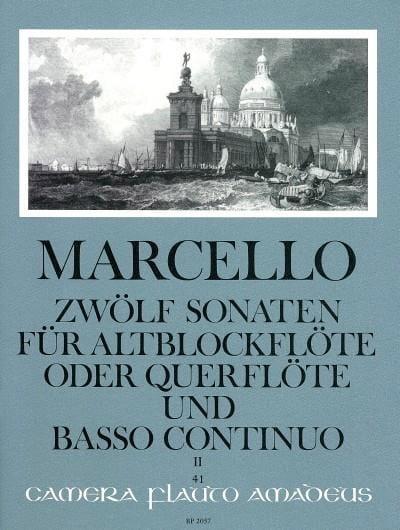 12 Sonaten op. 2 - Bd. 2 - Altblockflöte Flöte und Bc - laflutedepan.com