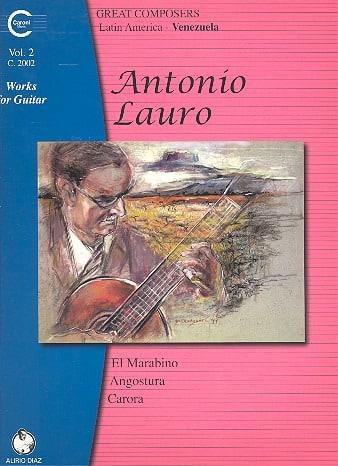 Oeuvres pour Guitare, Volume 2 - Antonio Lauro - laflutedepan.com