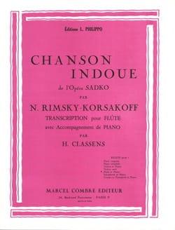 Nicolaï Rimsky-Korsakov - Hindu song - Partition - di-arezzo.com