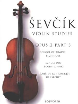 Otakar Sevcik - エチュード2 /パート3 - ヴァイオリン - Partition - di-arezzo.jp