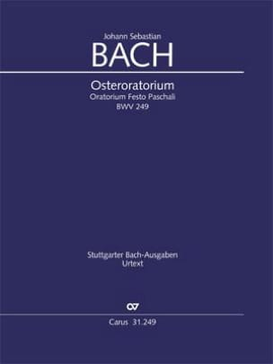 Osteroratorium BWV 249 - Conducteur - BACH - laflutedepan.com
