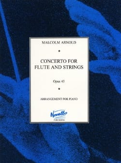 Concerto for flute and strings op. 45 - Flute piano laflutedepan