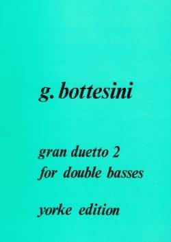 Gran duetto n° 2 BOTTESINI Partition Contrebasse - laflutedepan