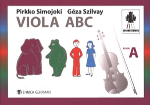 Viola ABC Book A Colourstrings Geza Szilvay Partition laflutedepan