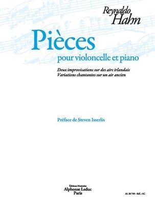 Pièces - Violoncelle et Piano Reynaldo Hahn Partition laflutedepan