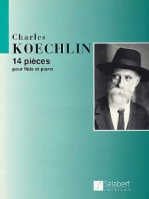 14 Pièces - Charles Koechlin - Partition - laflutedepan.com