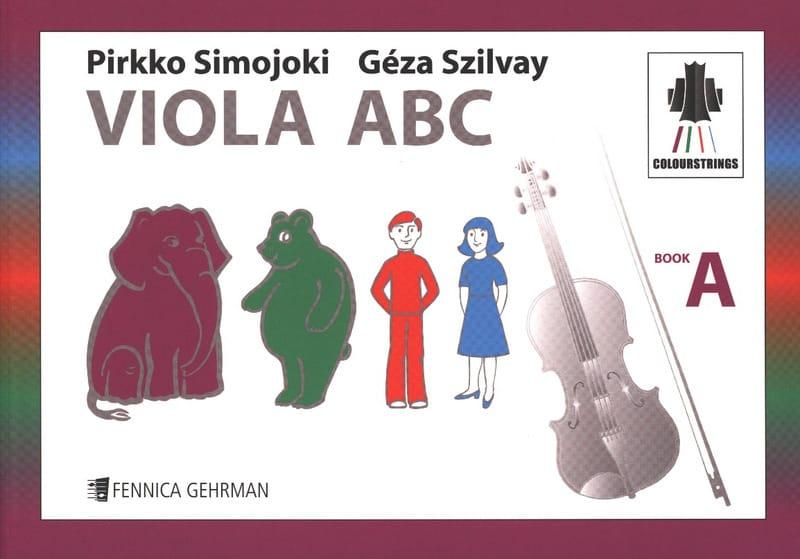 Viola ABC Book A Colourstrings - Geza Szilvay - laflutedepan.com