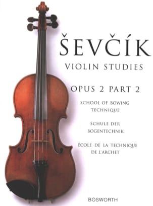 Otakar Sevcik - Etudes Opus 2 / Part 2 - Violin - Partition - di-arezzo.co.uk
