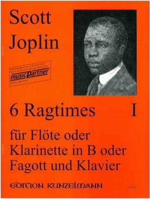 6 Ragtimes Bd. 1 - Flöte o. Klarinette, Fagott Klavier laflutedepan